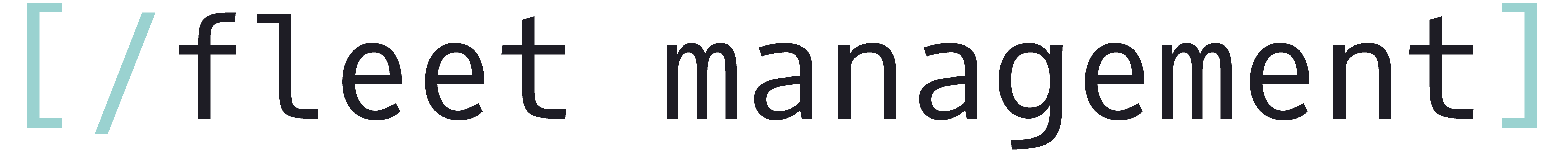 Fleet management logotipas
