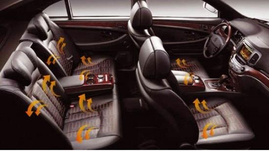 Automobiliu Šildomos sėdynės